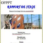 exemple rapport de stage ofppt commerce