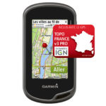 gps garmin oregon 600 + carte topo france v3 pro